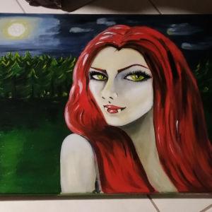Πίνακας Λαδι σε καμβά Βρικολακινα