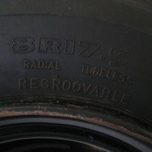 πωλείται ρεζέρβα λάστιχο με ζάντα για φορτηγό