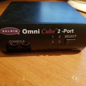 Belkin OmniCube 2-port, Keyboard Video Mouse switch