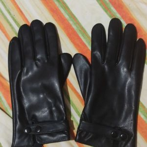 Γάντια δερματίνη