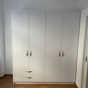 ΕΔΕΣΣΑ: 4-φυλλη ντουλάπα, 2,00 x 2,20 x 0,60 m, καινούρια