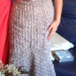 Βραδινό γοργονέ φόρεμα