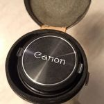 Canon zoom lens FD 100-200mm & θηκη μεταφορας