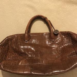 Furla δερμάτινη τσάντα χειρός