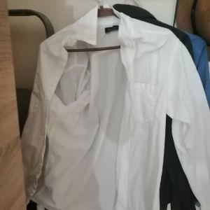 Λευκό πουκάμισο unisex