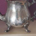 Τσαγιερα vintage  silverplated