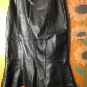 Δερμάτινη φούστα- γνήσιο δερμα