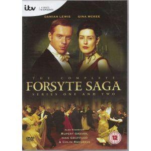 4 DVD  10 EPISODES / FORSYTE SAGA /  THE COMPLETE SERIES ONE AND TWO / ΧΩΡΙΣ ΥΠΟΤΙΤΛΟΥΣ