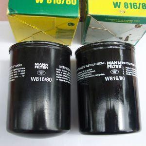 MANN W 816/80 - 2 ΦΙΛΤΡΑ ΛΑΔΙΟΥ- PREMIUM OIL FILTER - DAIHATSU ROCKY-WILDCAT-TAFT-MITSUBISHI PAJERO