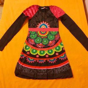 Παιδικό φόρεμα Desigual μακρυμάνικο