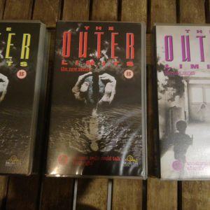 3 Βιντεοκασέτες The Outer Limits The New Series - χωρίς υπότιτλους
