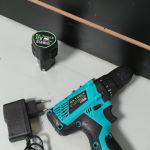 Δραπανοκατσάβιδο μπαταρίας 12 volt (2 μπαταρίες και φορτιστές).