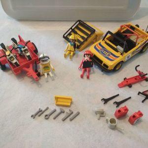Playmobil 3524 και τρέιλερ με ξερά
