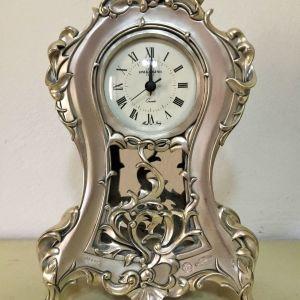Επιτραπέζιο ρολόι επάργυρο