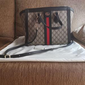 Γυναικεία δερμάτινη τσάντα