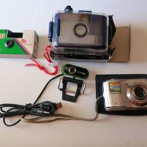 Φωτογραφικές μηχανές.