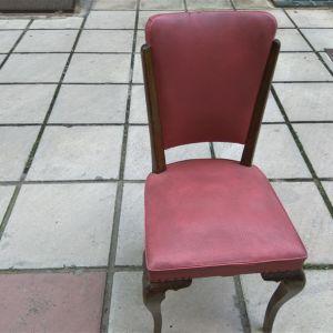 Ξύλινη καρέκλα αντίκα