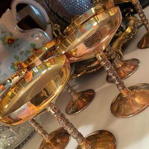 Επώνυμα Επάργυρα Ποτήρια Σαμπάνιας Διακοσμητικά