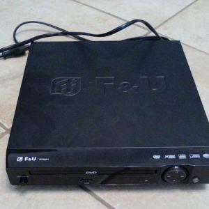 DVD player F&U , αχρησιμοποίητο, καινούργιο.