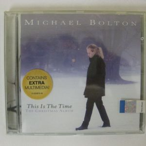 """MICHAEL BOLTON """"THIS IS THE TIME"""" - CD"""