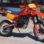 XR500R HONDA 498cc 1983 ENDURO KOKKINO ANTIKA