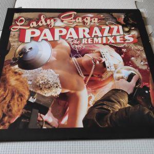 "Lady Gaga ""Paparazzi Remixes"" US 12"" Maxi Single"