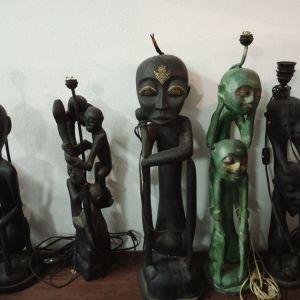 Αφρικανικά επιτραπέζια φωτιστικά