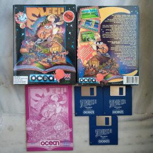Amiga game Sleepwalker big box