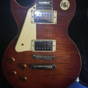 Ηλεκτρική κιθάρα αριστερή Epiphone Les Paul.