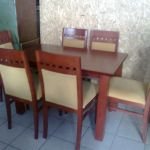 Μεταχειρισμένη τραπεζαρία με 6 καρέκλες