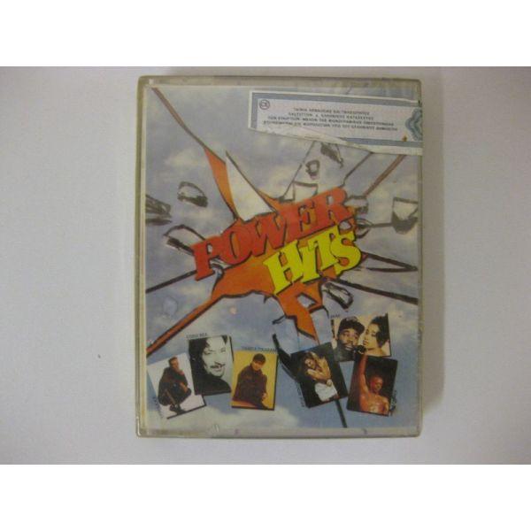 POWER HITS -VARIOUS  - dipli kaseta