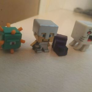 Minecraft φιγούρες series 1-2
