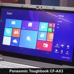 Panasonic CF-AX2 Ultrabook Tablet 11,6 ιντσών/ΑΦΗΣ/SSD  128gb  M2/4GB RAM/MADE IN JAPAN
