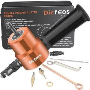 Κόφτης μετάλλων για δράπανο - Double Headed Metal Cutter Drill Attachment