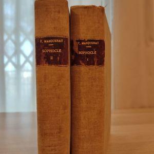 Sophocle belles lettres 2 τόμοι δεμένοι 1922