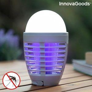 Επαναφορτιζόμενη λάμπα LED κατά των κουνουπιών 2 σε 1 Kl Bulb InnovaGoods