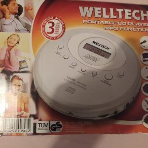 Φορητό cd player Welltech