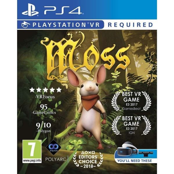 Moss gia PS4 PS5 PSVR