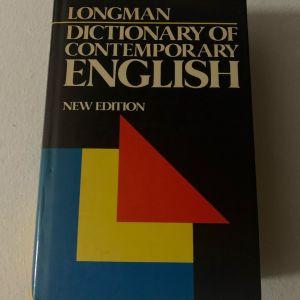 Longman dictionary of contemporary English 1989