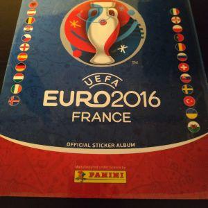 EURO 2016 PANINI κενό άλμπουμ