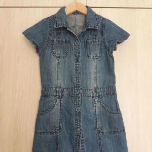 Τζιν φορεμα mothercare για 4-5 ετων, 110 εκ.
