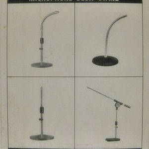 MICROPHONE DESK STAND