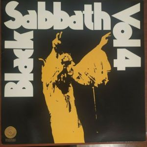 """Black Sabbath - VOL 4 / 12"""" Vinyl Record /  unofficial release 636071"""