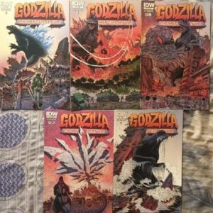 GODZILLA The half century war (5 τευχη)