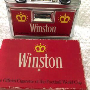 Winston διαφημιστικά κυάλια γηπέδου -retro wold cup