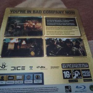 Battlefield bad company gold edition steelbook ps3
