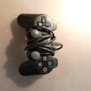 SONY DUALSHOCK 3 WIRELESS(ΑΣΥΡΜΑΤΟ)CONTROLLER για PS3 με καλώδιο πλήρως λειτουργικό!