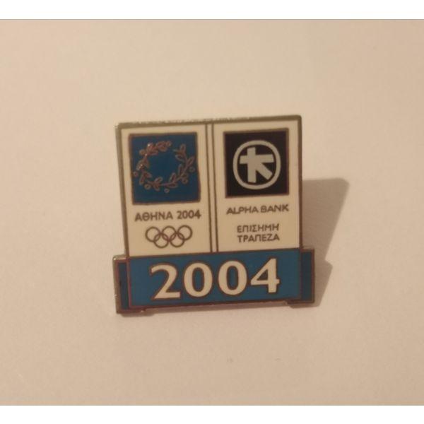 OLYMPIC PIN karfitsa athina 2004.