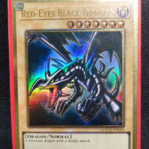 Red Eyes Black Dragon Gold Rare
