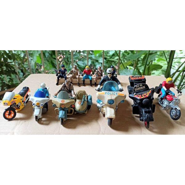 motosikletes ke motosikletistes, figoures dekaetias '90